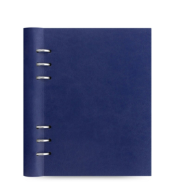 Filofax Clipbook A5 Classic Navy Extra 50 vel Wit Dotted Papier