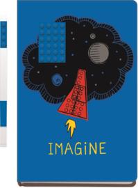 LEGO® Imagine Notebook met een Blauwe LEGO® Gelpen