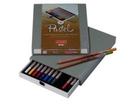 Bruynzeel Kleurpotloden  Design Pastel Set van 12