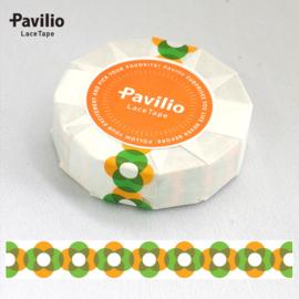 Pavilio Lace Washi Tape - Ry Geel