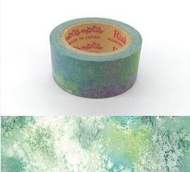 "Rink Washi Tape  - Watercolored Design - ""Yudachi"""