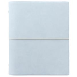 Filofax Domino A5 Personal Planner  Soft Pale Blue + Extra 50 Vel Crème Papier