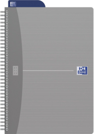 Oxford Dotted Notebook  ft  B5 = 17,6 × 25cm | Zilver