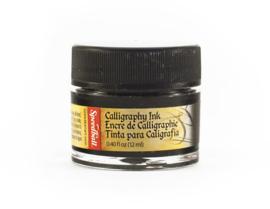 Speedball Kalligrafie Inkt - Zwart - 12ml