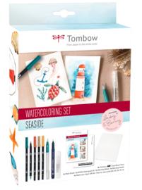 Tombow Watercoloring Set -  Seaside