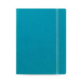 Filofax Hervulbaar Notebook ft  A5 Classic - Licht Blauw / Aqua