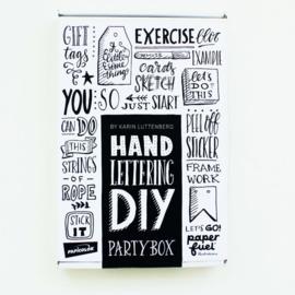 Paperfuel • DIY Handlettering Partybox