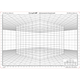 GRAPH'IT | Transparant Perspectief Raster - Model D