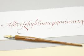 Handwritmic Zebra Wood Nib Penhouder