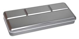 Metal Box voor 24 - Pearlcolor Ø 30mm Napjes