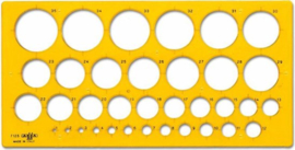Cirkels 1 t/m 35   # 7125