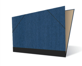 Tekenmap 25 x 35cm | Jeans № 1