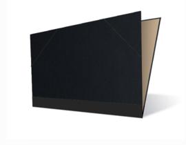 Tekenmap 25 x 35cm | Vergé Zwart  № 26