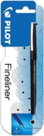 Pilot Fineliner - Zwart, 0.5mm
