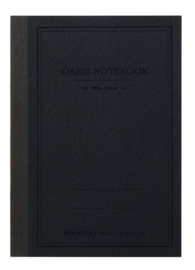 ProFolio® Oasis Notebook Charcoal , A6 = 10,5 x 14,8cm
