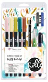 Tombow Dual Brush ABT Blended Lettering Set - Cozy Times - Set van 10