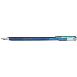 Pentel Hybrid Dual Metallic Shimmering Gel Pen - 1.0 mm - Blauw / Metallic Groen