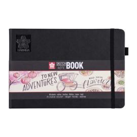 Sakura Sketch Noteboek 21 x 14,8 cm 140g Wit Papier