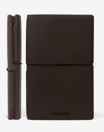 Modimo Refillable Basic Notebook / Planner - Donker Bruin
