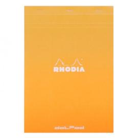 Rhodia dotPad No.18 - A4 - 80 pagina's - Oranje  Kaft