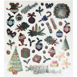 Stickervel Kerst No. 1