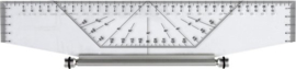 Professionele Rolling Ruler / Liniaal 35cm / # 20604