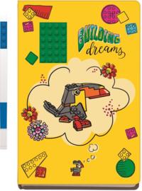 """LEGO® """"Building Dreams"""" Notebook + LEGO® Gelpen"""