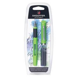 Sheaffer Kalligrafie Viewpoint Pen Groen  2.0mm