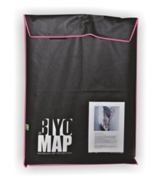 BiyoMap 50 x 60cm (Roze Bies)