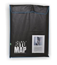 BiyoMap  60  x 70cm (Donker Blauwe Bies)