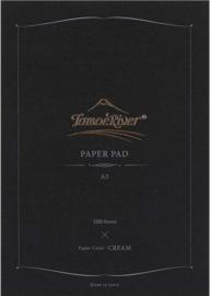 Tomoe River A5 Paper Pad 100 Vel = 200 Pagina's Cremè 52g/m2 Papier