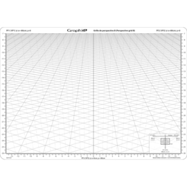 GRAPH'IT | Transparant Perspectief Raster - Model B