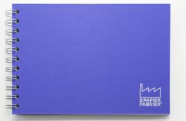 A5 Tekenblok / Schetsboek 70 Vel 120g/m² Blanco Wit Papier. Omslag Paars