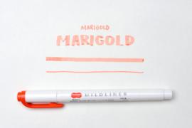 Zebra Mildliner Double-Sided Highlighter - Fine / Bold – Mild Mari Gold