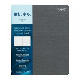 Maruman  N1481 Glyphy Notebook - B6 - Gelinieerd Writing Paper - 80 Pagina's