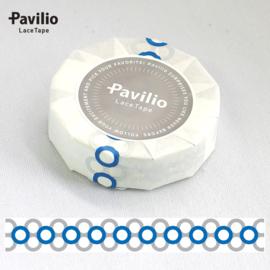 Pavilio Lace Washi Tape -  Blue / Gray