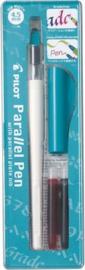 Pilot Parallel Kalligrafeer Pen 4,5mm + GRATIS Sample Archie's Kalligrafeer A4 Papier