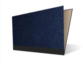 Tekenmap 25 x 35cm | Magic Blauw № 2