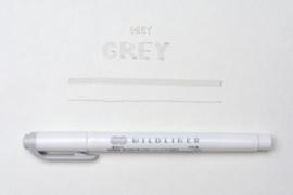 Zebra Mildliner Double-Sided Highlighter - Fine / Bold – Mild Gray