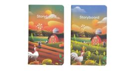 Endless Editie # 02 'the Farm' Notebook set van 2