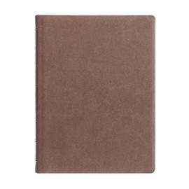 Filofax Hervulbaar Notebook ft  A5 Architexture - Terracotta