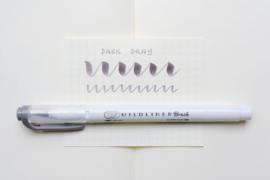 Zebra Mildliner Brush Pen – Mild Dark Gray