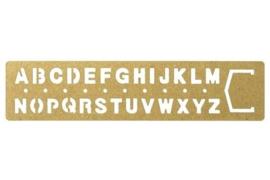 BRASS Template Bookmark Alphabet