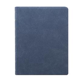 Filofax Hervulbaar Notebook ft  A5 Architexture - Blue Suede