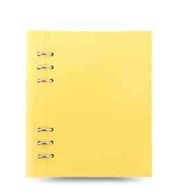 Filofax Clipbook A5 Pastel Lemon + Extra 50 vel Wit Dotted Papier