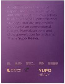 Legion Yupo Medium  Pad– 10 Vellen - 22 x 30cm 390g/m²