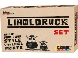 KREUL Linoldruk-Set