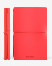 Modimo Refillable Basic Notebook / Planner - Red