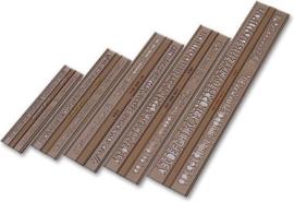 Lettersjablonen Set van 5, type ISO