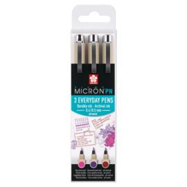 Pigma Micron PN Craft-Set 3 Kleuren